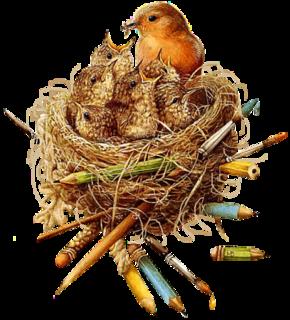 sparrow clip art